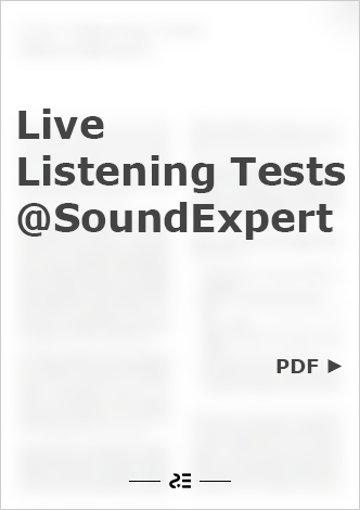 Live Listening Tests @SoundExpert